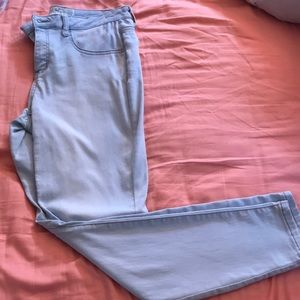 Light blue jeggings